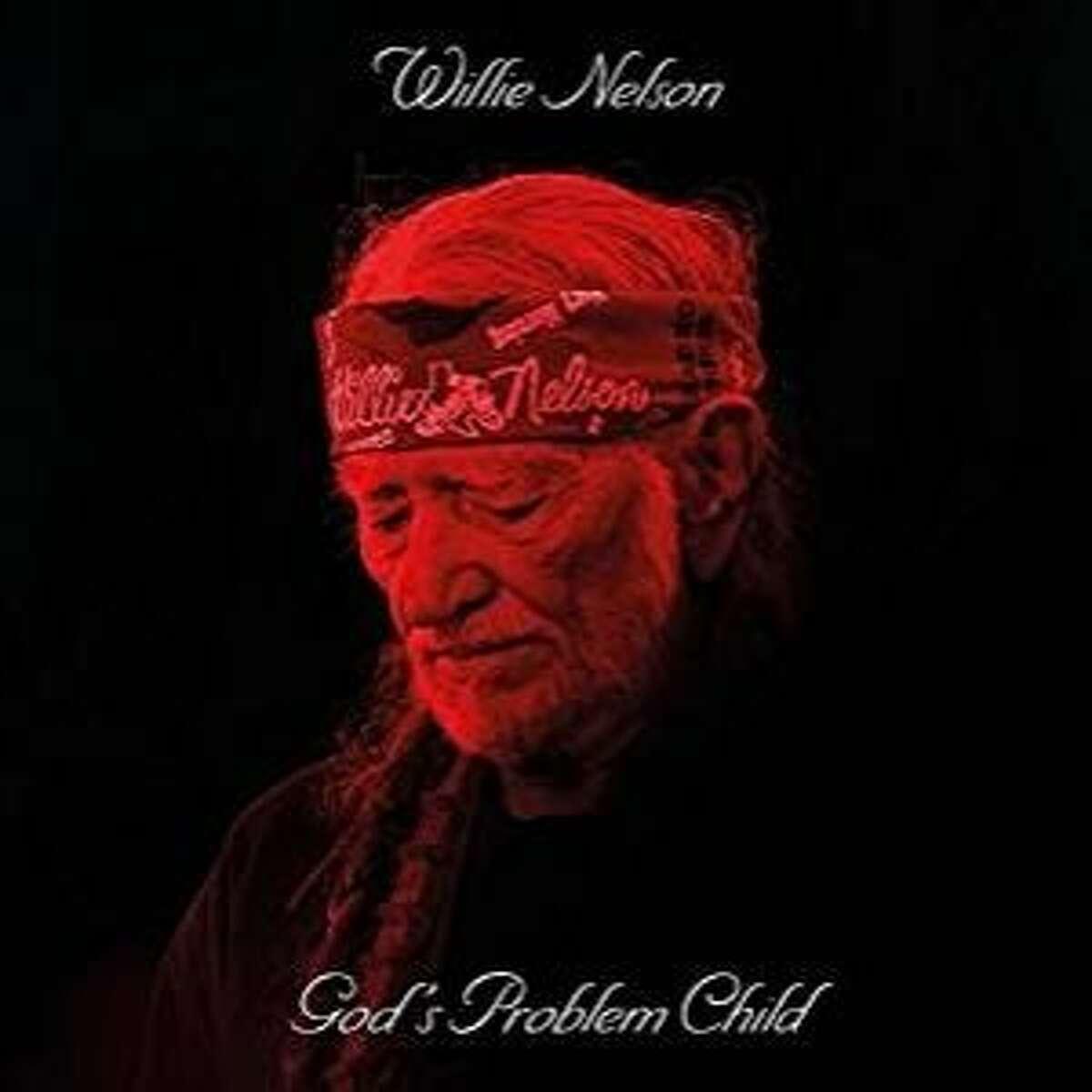 "CD cover: Willie Nelson, ""God's Problem Child"""