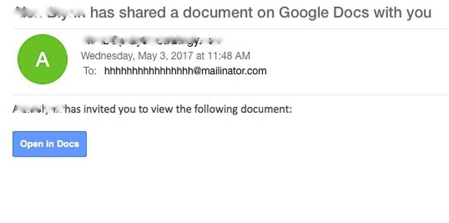 Don't click that Google Docs link someone just shared with you - it