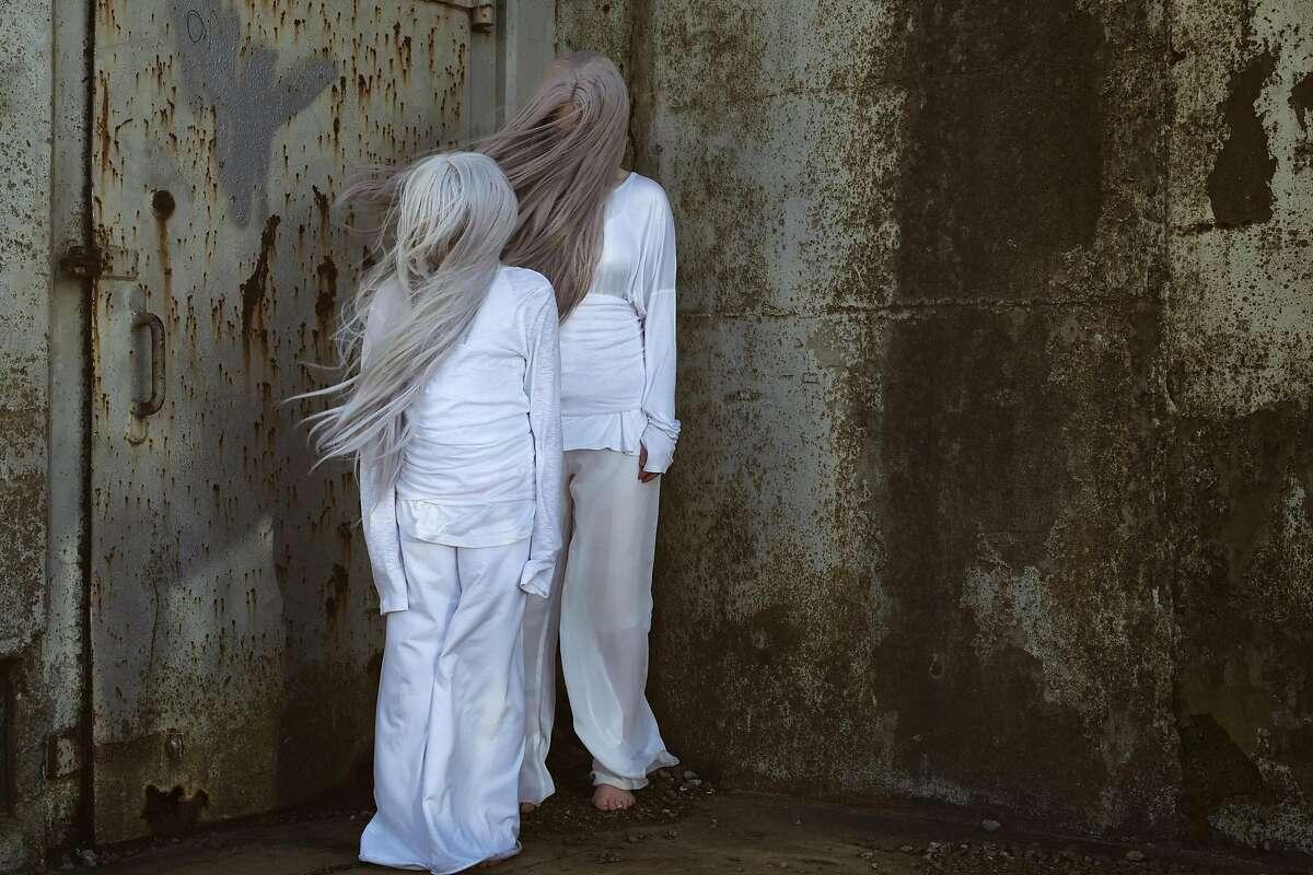 Finnish-born dance artist Raisa Punkki performs a dance-cinema hybrid at the San Francisco Arts Festival.