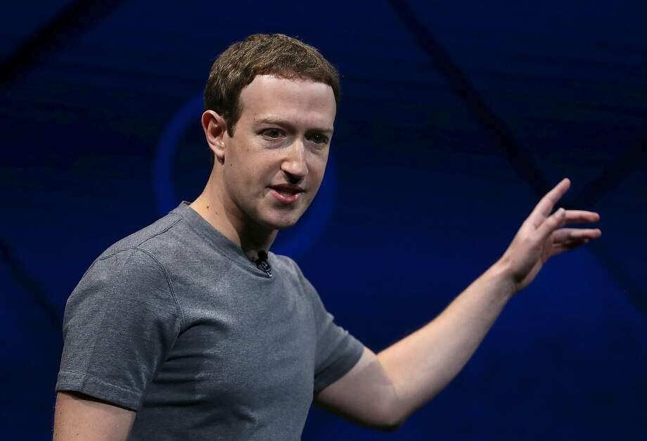 FILE: MAY 3, 2017 - According to reports, Facebook has declared first-quarter earnings of $8 billion, surpassing revenue expectations. The social media company attributed their Q1 earnings to an increase in users and ad revenue. SAN JOSE, CA - APRIL 18:  Facebook CEO Mark Zuckerberg delivers the keynote address at Facebook's F8 Developer Conference on April 18, 2017 at McEnery Convention Center in San Jose, California. The conference will explore Facebook's new technology initiatives and products. (Photo by Justin Sullivan/Getty Images) Photo: Justin Sullivan