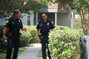 A couple was found shot to death in an apartment in the 11000 block of Braesview May 3, 2017.