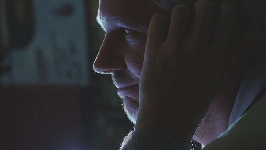 Risk Film Still Julian Assange.  Credit: Courtesy Praxis Films Photo: Courtesy Praxis Films