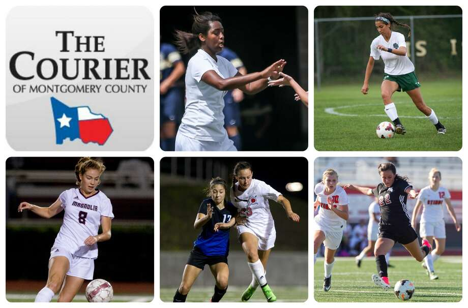 The Woodlands' Jazzy Richards, College Park's Isa Sanabria, Magnolia's Brooke Mallory, Porter's Kimberly Rodriguez and Porter's Kelly Rodriguez are The Courier's nominees for Player of the Year.