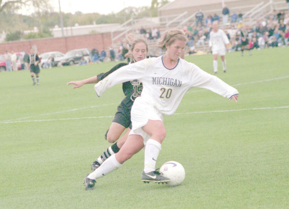Kacy Beitel was an All-State player at Dow High and All-American