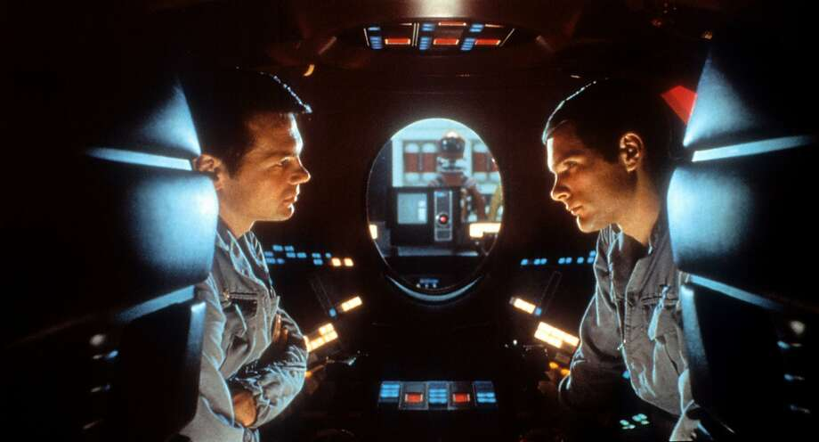 """Gary Lockwood in a scene from """"2001: A Space Odyssey,"""" a classic from 1968 reissued in a new 70mm print on its 50th anniversary. Photo: Metro-Goldwyn-Mayer / Getty Images"""