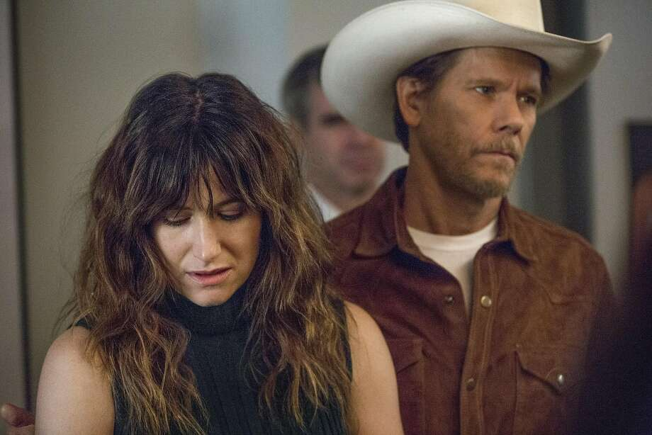 """Kathryn Hahn is the married Chris, and Kevin Bacon plays Dick, a swaggering artist with whom she is obsessed in the """"I Love Dick"""" series on Amazon Prime. Photo: Amazon Prime Video"""
