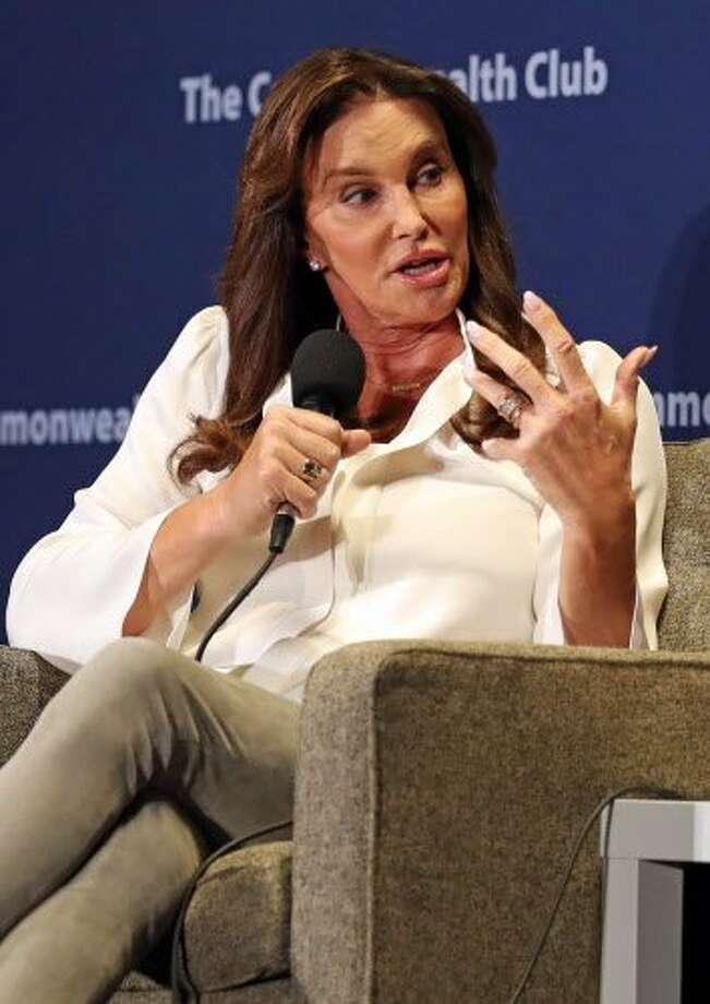 Caitlyn Jenner speaks at The Commonwealth Club of California in San Francisco, Calif., on Wednesday, May 3, 2017. Photo: Scott Strazzante, The Chronicle