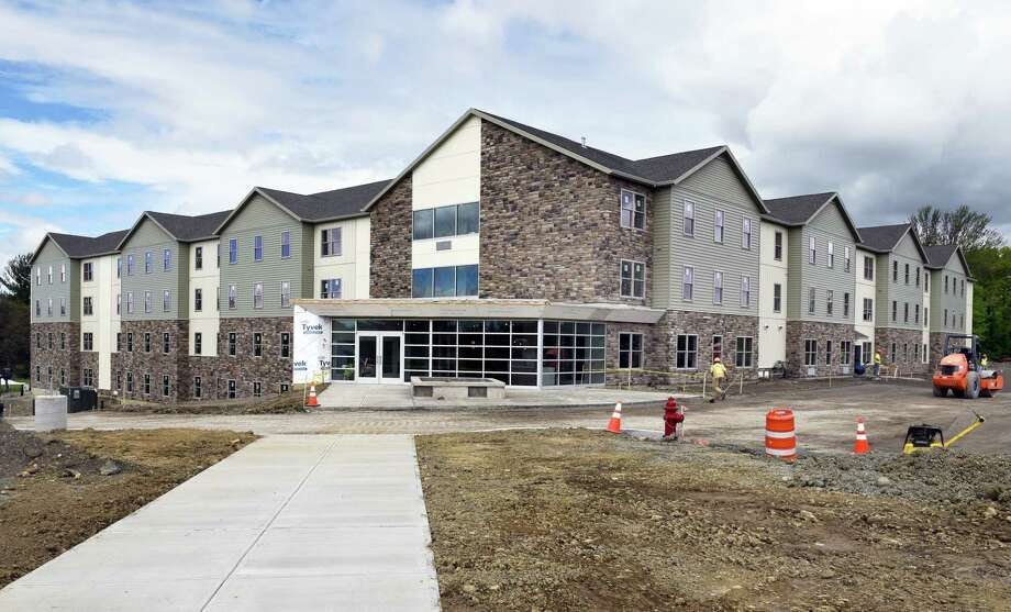 College Suites at Hudson Valley nears completion Wednesday May 3, 2017 in Troy, NY.  (John Carl D'Annibale / Times Union) Photo: John Carl D'Annibale / 20040407A