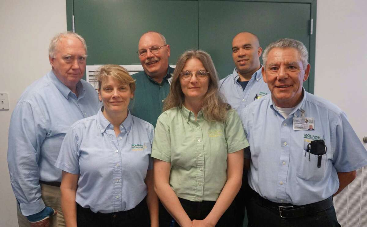 Mohawk Ambulance Service's training center staff received the