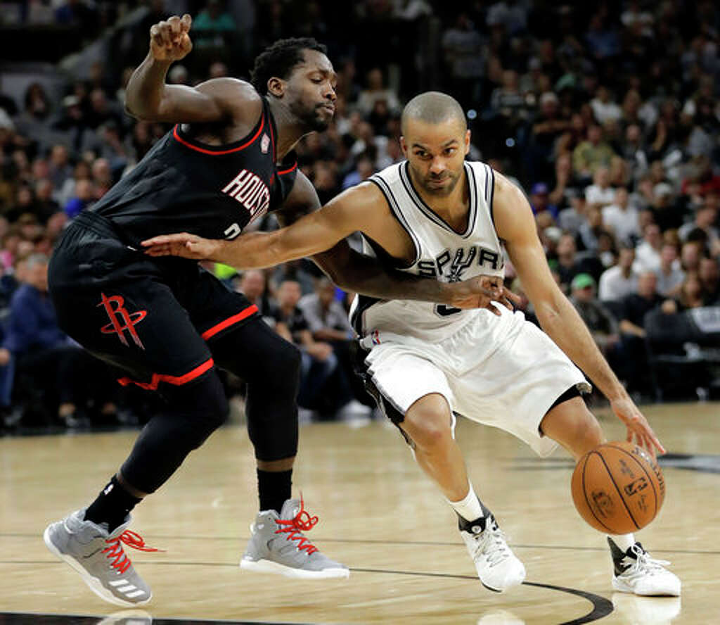Spurs Ginobili on Parker We re not going to see him any time