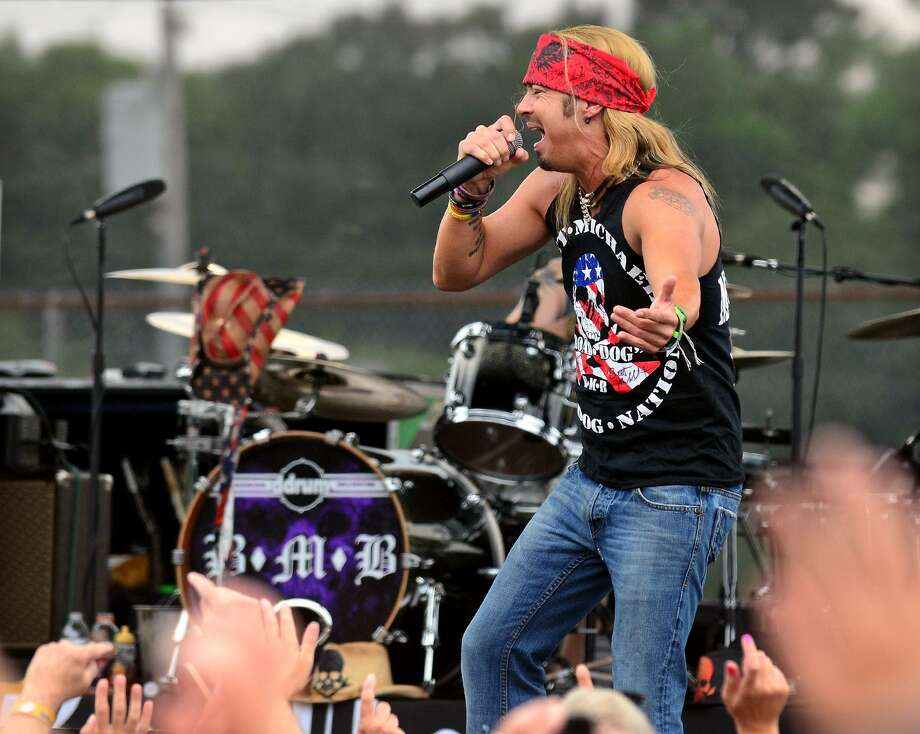 Bret Michaels headlines at the 40th Annual Milford Oyster Festival in downtown Milford, Conn. on Saturday, August 16, 2014. Photo: Christian Abraham / Christian Abraham / Connecticut Post
