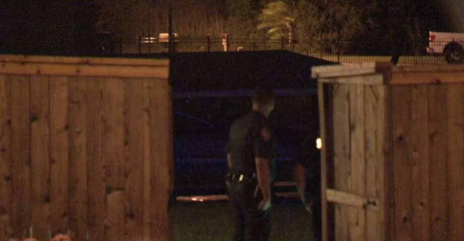 Houston police are investigating the cause of a person's death, who was found floating Wednesday in Lake Houston. (Metro Video) Photo: Metro Video