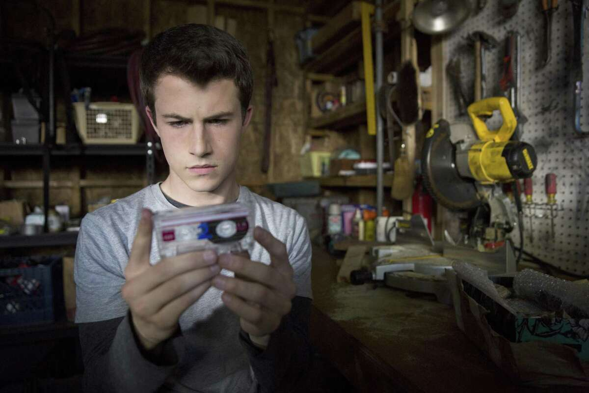 """Dylan Minnette as Clay Jensen in """"13 Reasons Why,"""" about a teenager who commits suicide."""