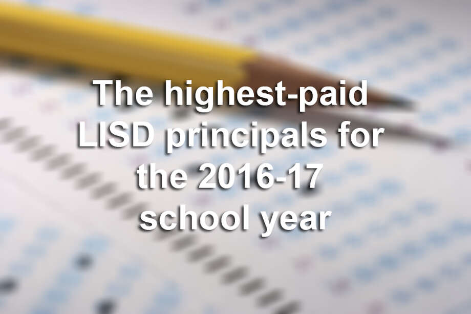 Click through the gallery to see how much the principals at Laredo-area schools in the LISD were paid in the 2016-17 school year.