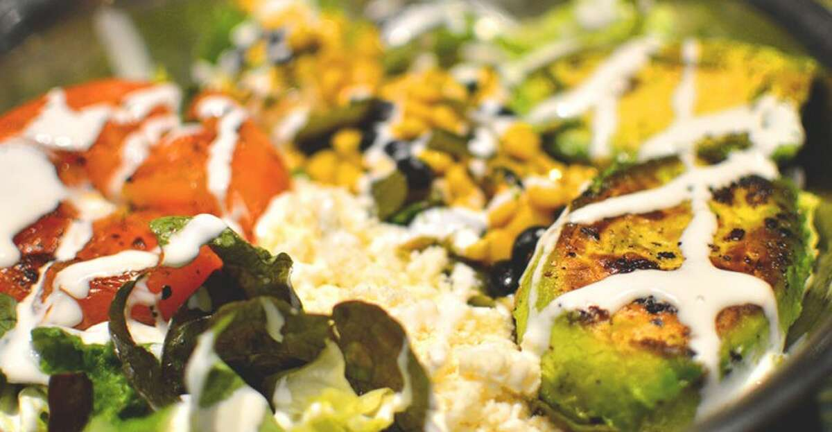 The grilled avocado salad is a top seller at Snappy Salads.