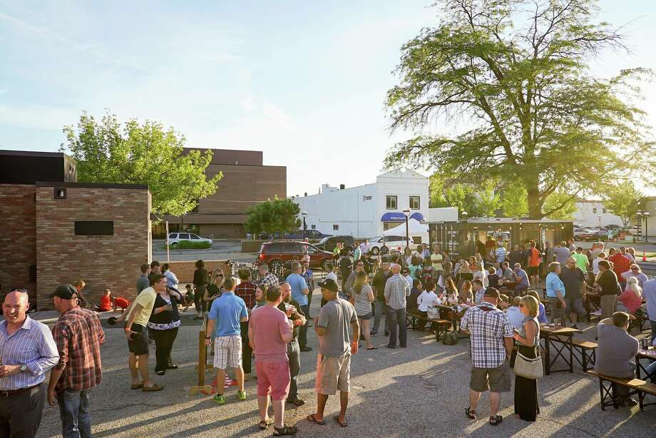 June 1-4 Thursday/Friday: Drop by 233 E. Larkin St. downtown around 5 p.m. on June 1. That's opening day for the Larkin Beer Garden, which serves from a shipping container converted to a pop-up, outdoor bar. It runs Thursdays and Fridays from 5 to 10 p.m. through Sept. 29. Don't let the name steer you away — it's open to all ages, and organizers bill it as a family- and pet-friendly event with life-size games (think Jenga and Connect 4), food truck fare and live music. Just don't swing by too early, because all you'll see is a nondescript parking lot (all the materials necessary to set up the outing fit in the shipping container). Photo: Larkin Beer Garden