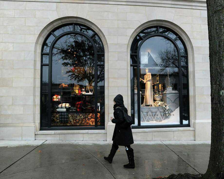 The Ralph Lauren store holiday window display at 265 Greenwich Ave., Greenwich, Conn., Tuesday, Dec. 2, 2014. Photo: Bob Luckey / Bob Luckey / Greenwich Time