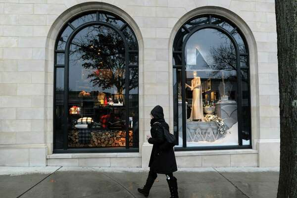 The Ralph Lauren store holiday window display at 265 Greenwich Ave., Greenwich, Conn., Tuesday, Dec. 2, 2014.