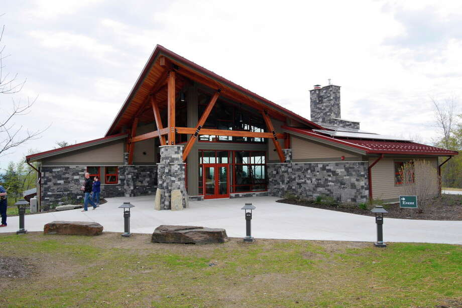 A View Of The New 8240 Square Foot Thacher Park Center During Grand Opening