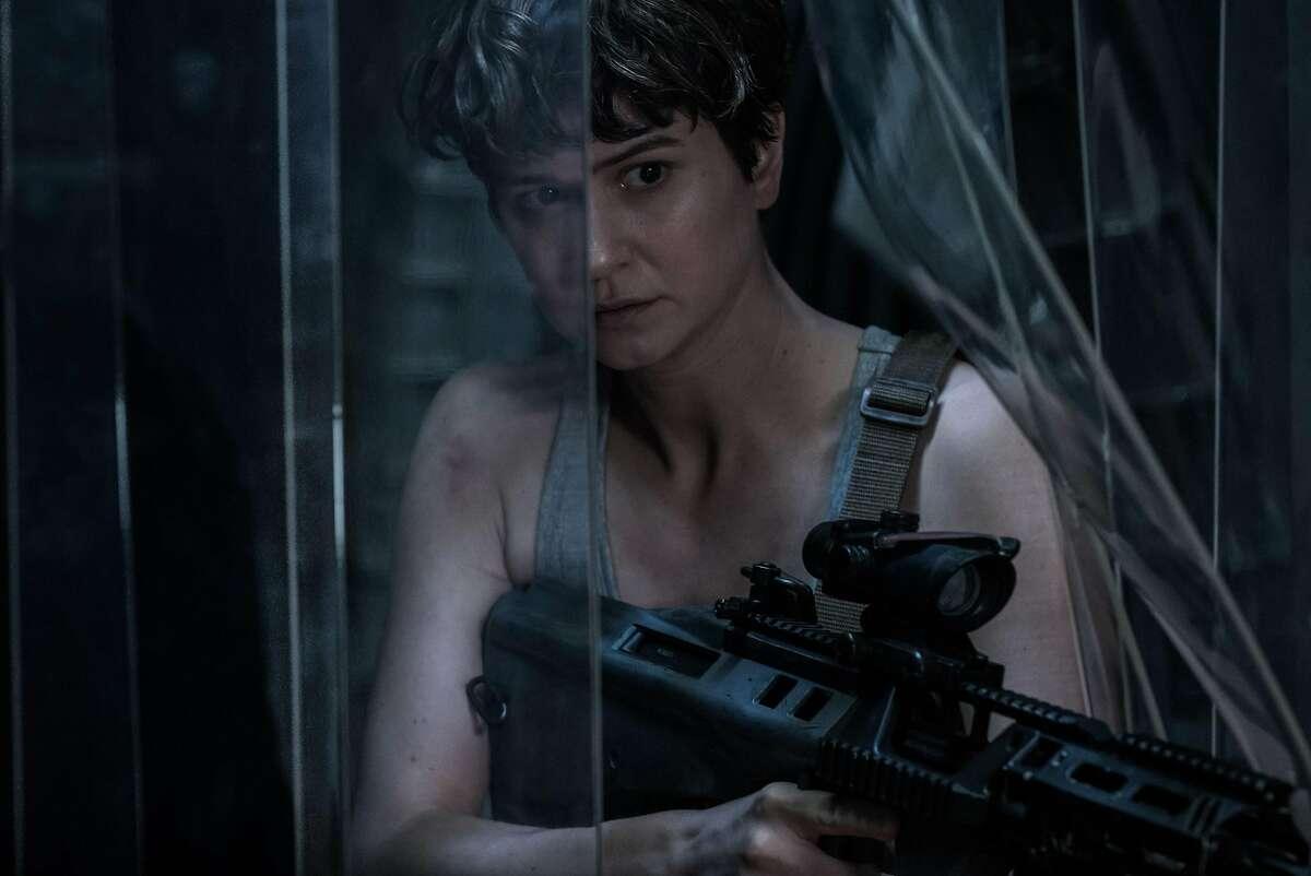 Katherine Waterston as Daniels in