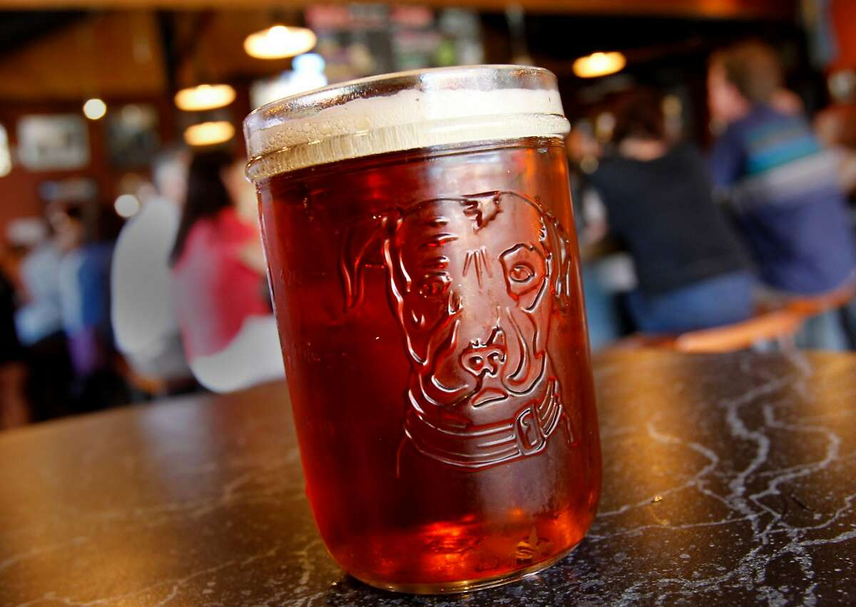Undercover Shutdown, one of the exotic brews offered at the Taproom. The Lagunitas Taproom and beer sanctuary is a delicious secret on the east side of Petaluma featuring their superb beer, live music, and entertaining food.