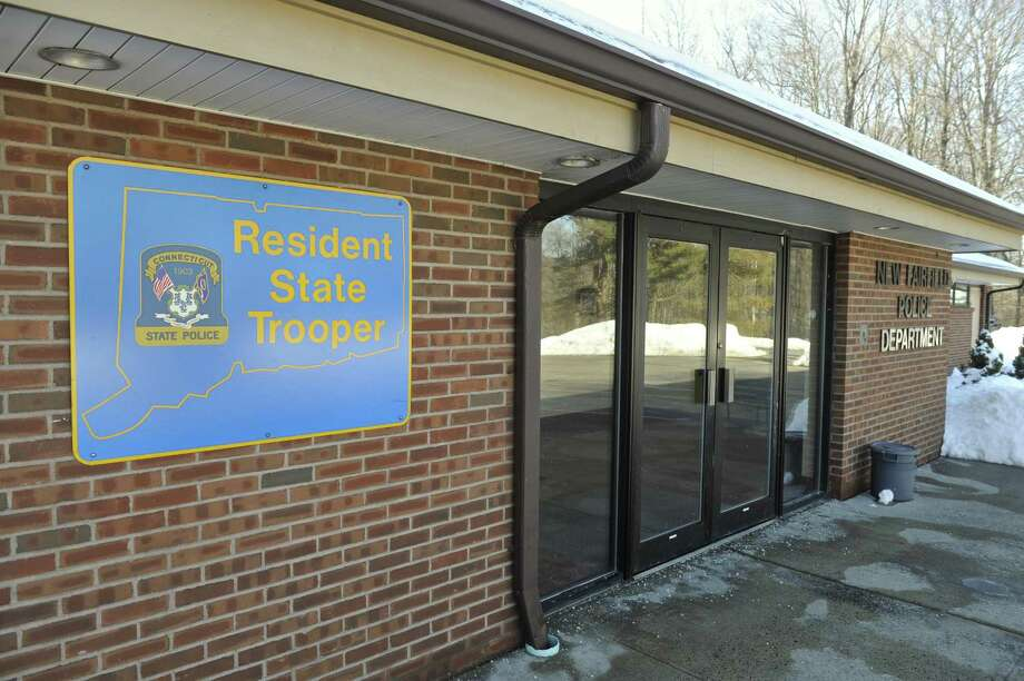 The New Fairfield Police Department includes a Connecticut State Police resident trooper. The resident state trooper program is a rare example of cross-border cooperation among towns, and one that should be emulated for the state to see real savings. Photo: H John Voorhees III / Hearst Connecticut Media / The News-Times