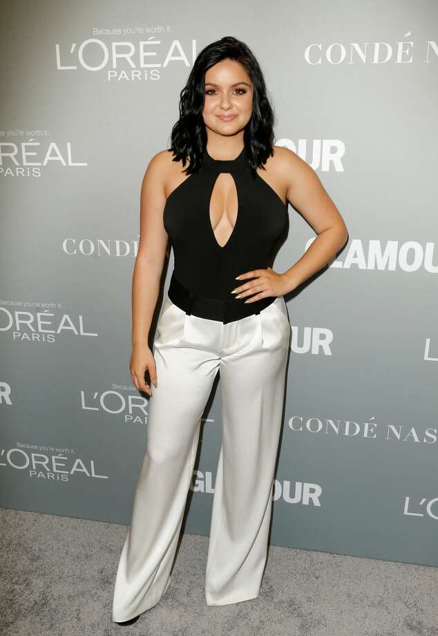 Actress Ariel Winter poses backstage at Glamour Women Of The Year 2016 LIVE Summit at NeueHouse Hollywood on November 14, 2016 in Los Angeles, California. Photo: Jeff Vespa/Getty Images For Glamour