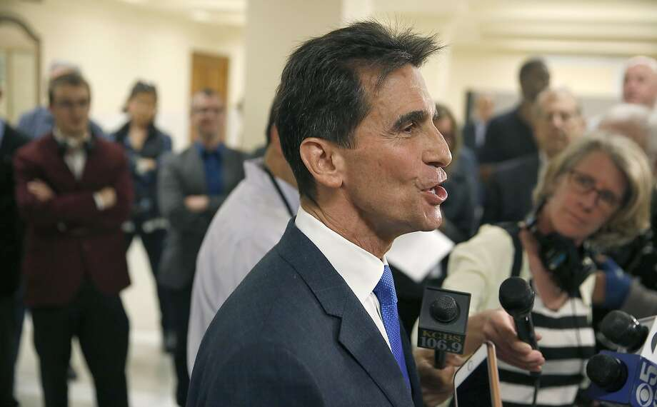 """Legislators and public health advocates have tried for years to get  them banned at the state level but have always run into opposition from  chemical manufacturers. """"The chemical industry would lie and cheat,"""" said former state legislator Mark Leno. Photo: Liz Hafalia, The Chronicle"""