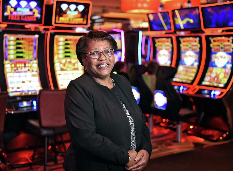 General manager Mary Cheeks on the floor of Rivers Casino Tuesday May 2, 2017 in Schenectady, NY.  (John Carl D'Annibale / Times Union) Photo: John Carl D'Annibale / 20040378A