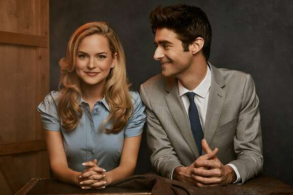 Stephanie Styles stars as Princess Ann and Drew Gehling is photographer Joe Bradley in �Roman Holiday � The Musical.� The show�s pre-Broadway run opens at the Golden Gate Theatre on May 23. Photo: Nathan Johnson.
