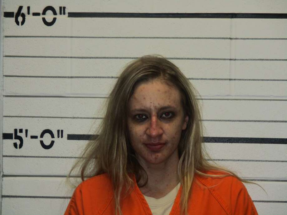 Megan Nicole Sloan, 27, of Sapulpa, Oklahoma, faces several charges of possession of a controlled substance and a charge of embezzlement, her arrest records show.