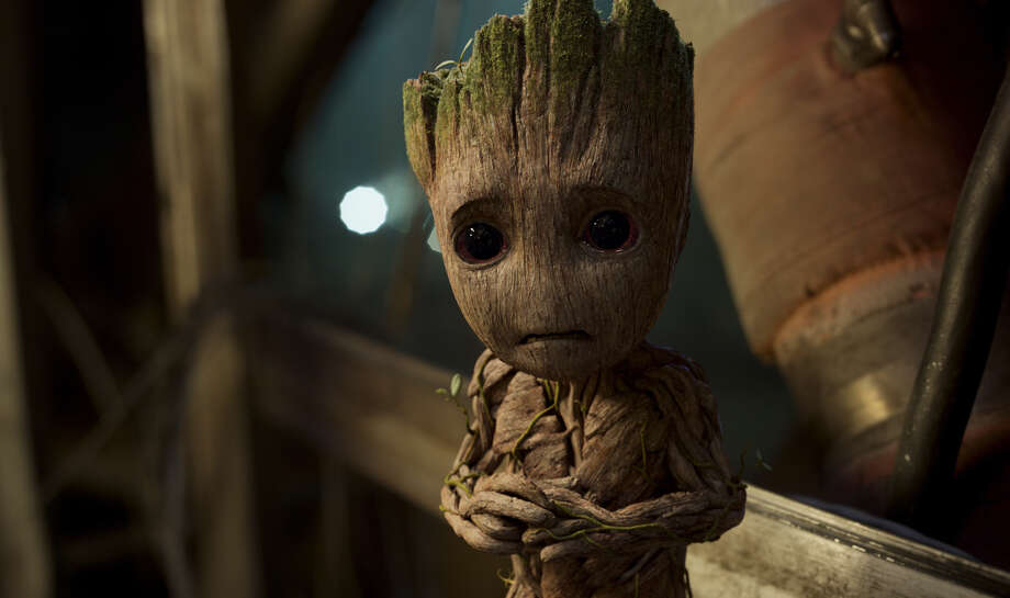 "This image released by Disney-Marvel shows Groot, voiced by Vin Diesel, in a scene from, ""Guardians Of The Galaxy Vol. 2."" (Disney-Marvel via AP) Photo: HONS / null"