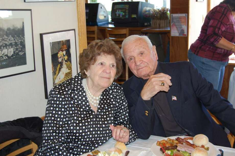 Helen and Michael Chiappetta celebrating their 70th wedding anniversary. Photo: Contributed Photo / Greenwich Time Contributed