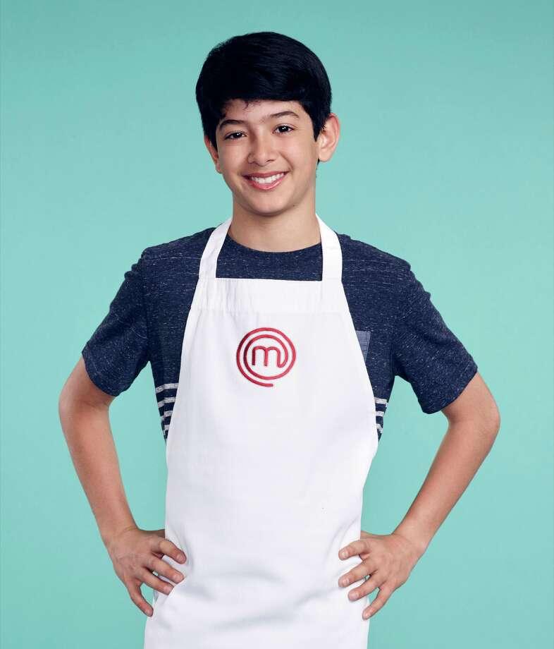MasterChef Junior contestant Adam Wadhwani. Photo: Fox