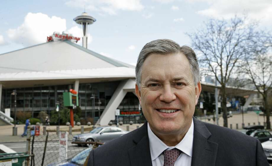 Principals: Headed by sports executive Tim Leiweke (above) and legendary music executive Irving Azoff, the Oak View Group (OVG) was formed in 2015. Part of its business is the Arena Alliance, which brought together 26 venues worldwide to collectively leverage their combined buying and selling power. Leiweke is the former president and CEO of Anchutz Entertainment Group (AEG), the world's largest owner of sports franchises and events. Photo: Ted S. Warren/AP