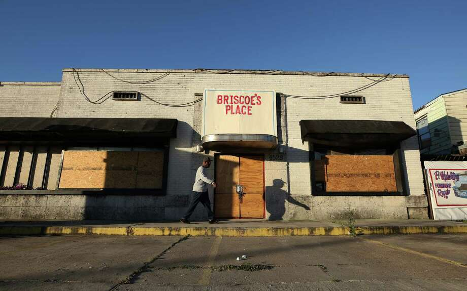 Briscoe's Place used to be a rooming house before it burned, killing two, in March. Photographed Monday, May 1, 2017, in Houston. Photo: Godofredo A. Vasquez, Houston Chronicle / Godofredo A. Vasquez