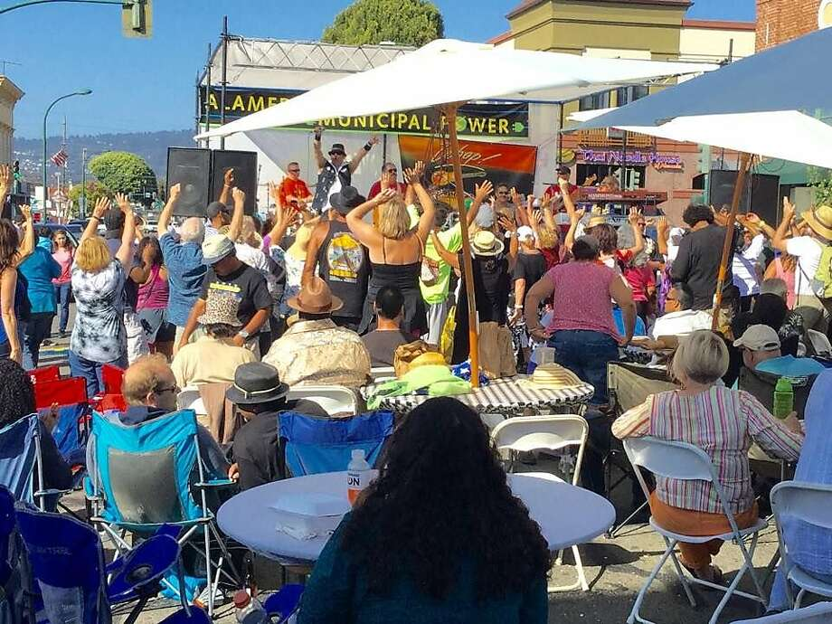 The Alameda Downtown Spring Festival takes place every year. Photo: Courtesy Alameda Downtown Spring Festival