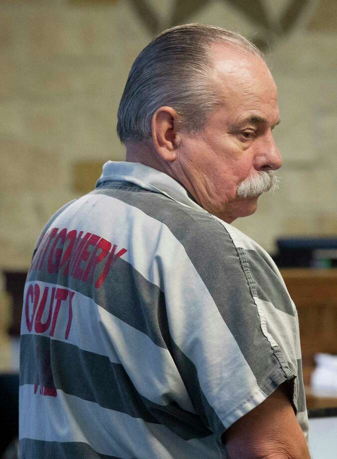Ronald Cooper is seen during a break in his sentencing hearing in the 359th state District Court, Thursday at the Montgomery County Courthouse, May 4, 2017, in Conroe. Cooper, 69, was found guilty of driving high on prescription pills and crashing into a family sedan, killing all four occupants as they headed home from church on a bright Sunday afternoon in 2015. Photo: Jason Fochtman, Staff Photographer / © 2017 Houston Chronicle