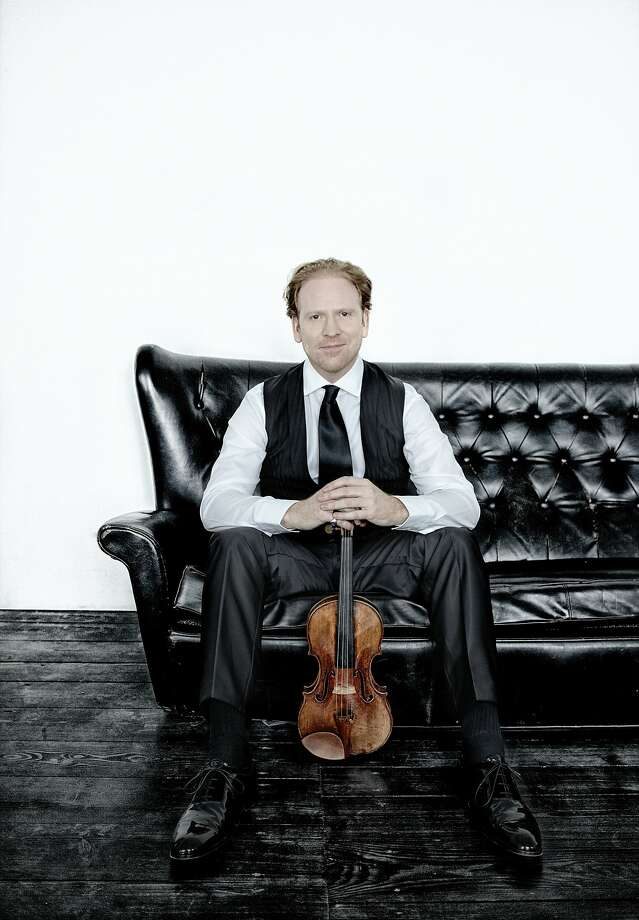 Violinist Daniel Hope Photo: Harald Hoffmann