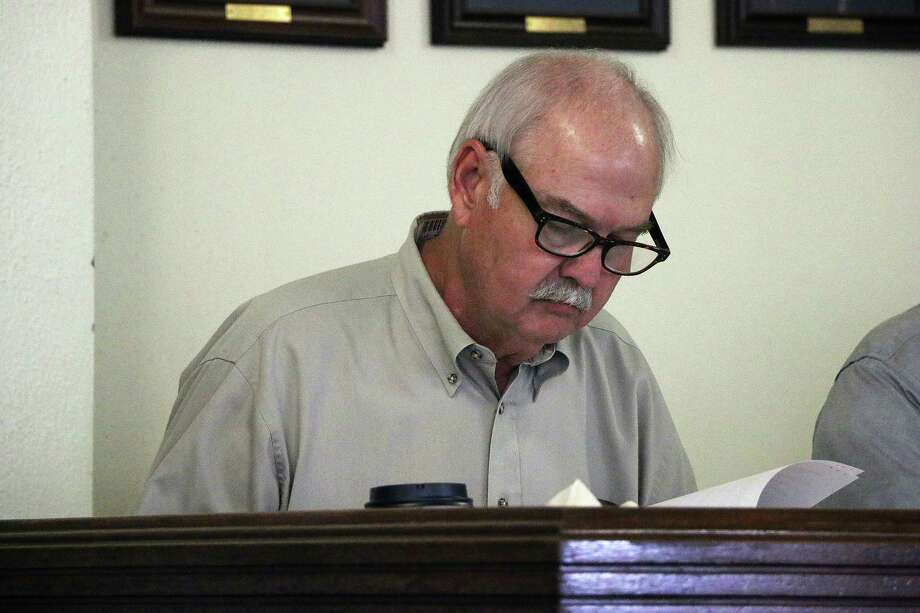 Liberty County Attorney Matthew Poston has filed a petition to remove Pct. 1 Commissioner Mike McCarty from office. Last month McCarty (pictured) was convicted on two counts of abuse of official capacity but he is appealing the verdict. Photo: David Taylor