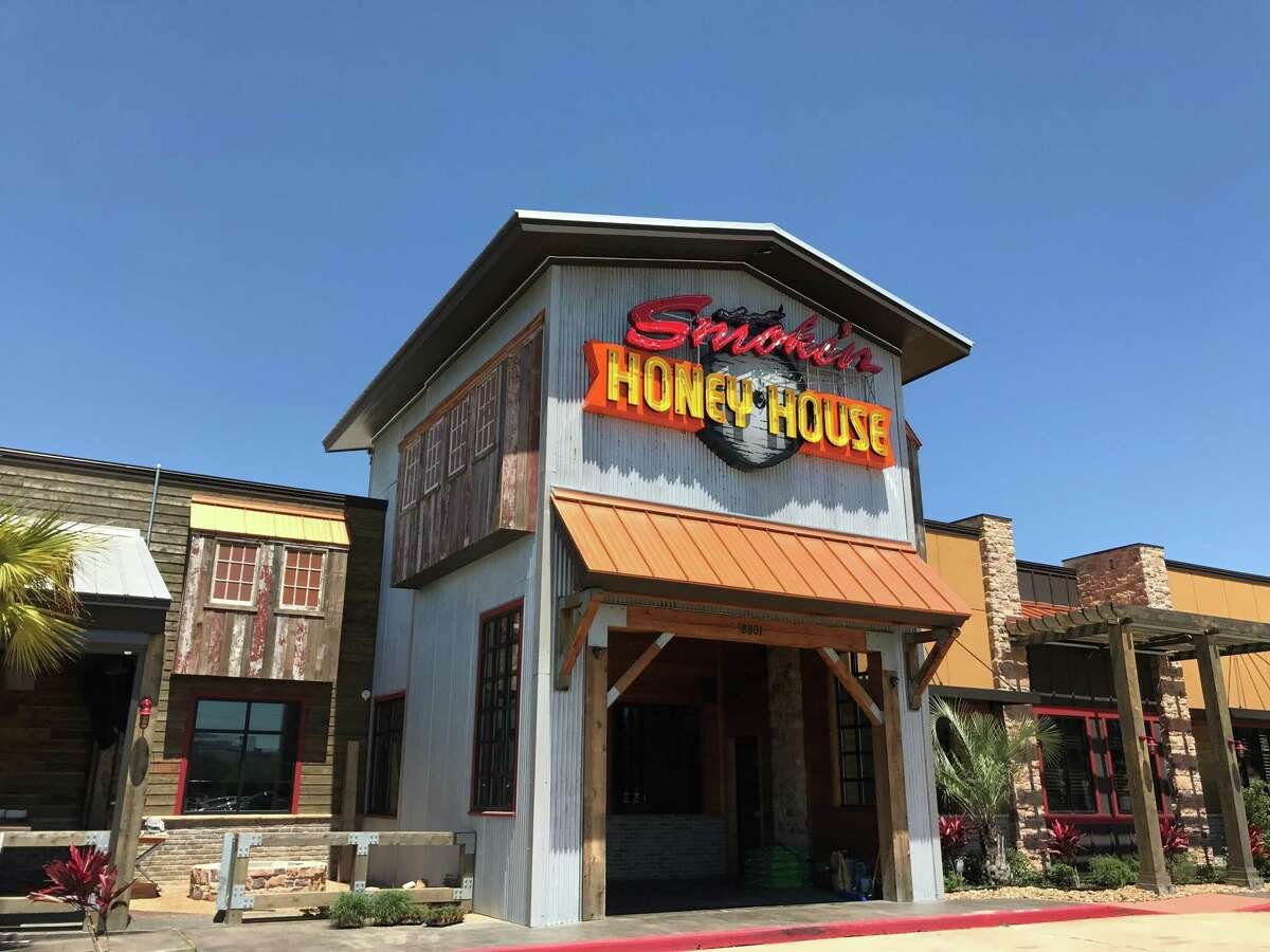 Smoke'n Honey House is a new barbecue restaurant and bar that seats about 500 at 8801 North Loop East. It is scheduled to open May 30.