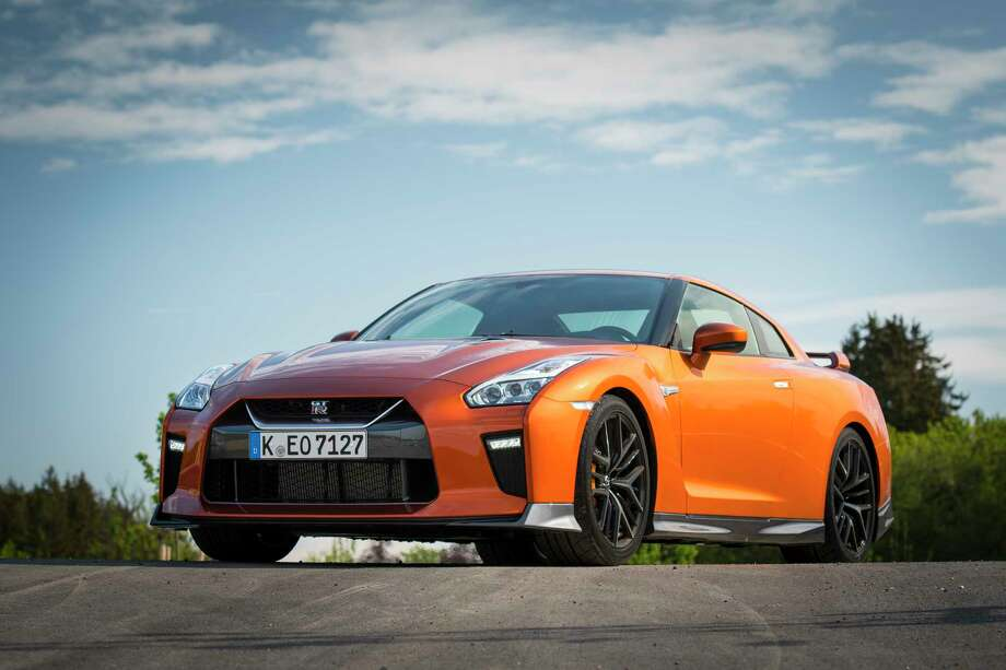 The GT-R's body hasn't changed much in nine years but the grille of the 2017 is larger to gulp more air and improve cooling. Photo: Nissan / © 2016 Nissan