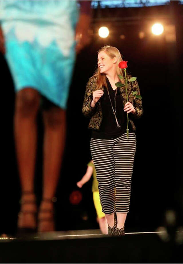 Augusta Overy at Threads fashion show at CMU, Saturday, April 22. Photo provided.