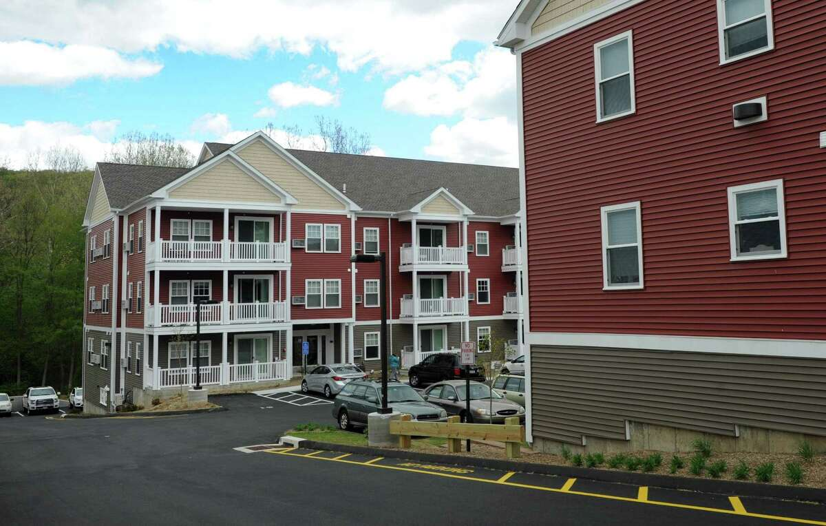 The Barton Commons, a mixed-income development on East Street in New Milford.