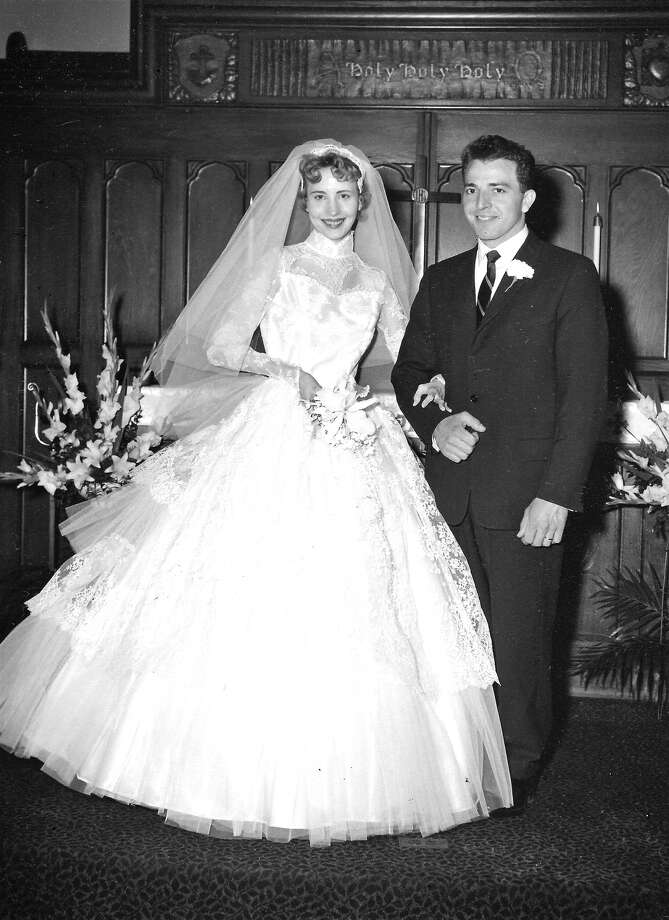Bob and Ruth Paskero at their wedding. Photo: For The Intelligencer