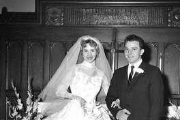 Bob and Ruth Paskero at their wedding.