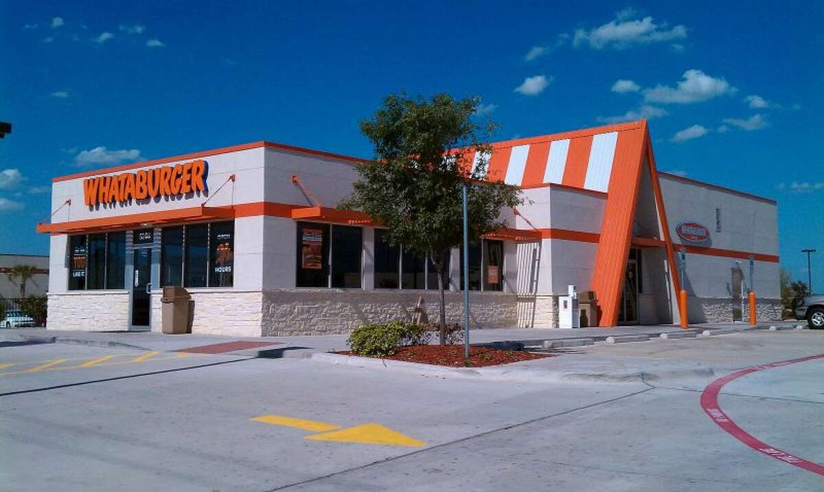 27) Whataburger Average calorie count of menu items: 727.2 Highest calorie item: Chop House Cheddar Burger Meal (1,840 calories) Highest cholesterol item: Breakfast Platter with Sausage Meal (705mg) Highest fat item: Chop House Cheddar Burger Meal (95g) Highest sugar item: Strawberry Malt 32 oz (156g)