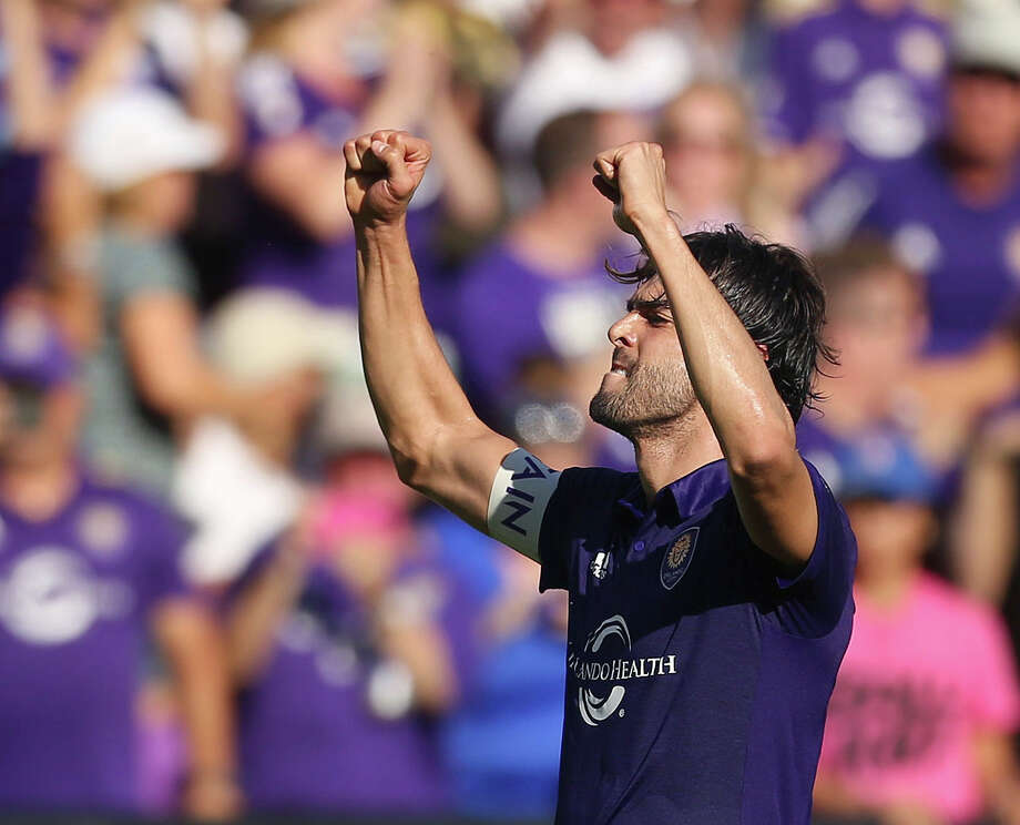 Orlando City SC attacking midfielder Kaká helped Brazil capture the World Cup in 2002. Photo: Stephen M. Dowell, MBO / Orlando Sentinel 2017
