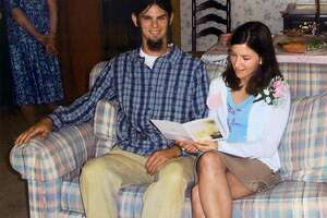 Jason Allen, left, of Michigan, and Lindsay Cutshall, of Ohio, are shown at their wedding shower in May 2004 at the home of Jason's parents, Bob and Dolores Allen, location unknown. Allen, 26, and Cutshall, 23, two soon-to-be-married Christian camp counselors, died almost instantly when they were shot in their heads in their sleeping bags on a remote Sonoma County, Calif.,beach, authorities said Friday, Aug. 20, 2004, as dozens of officers joined the hunt for the killer. Police have no suspects in their slayings, which apparently occurred Sunday or Monday, Sonoma Sheriff's Lt. Dave Edmonds said. (AP Photo/Family via The Coshocton Tribune, File).     HOUCHRON CAPTION (08/29/2004):  SECNEWS: SEEKING ANSWERS: Engaged couple Jason Allen, 26, and Lindsay Cutshall, 22, were shot and killed in their sleeping bags on a Sonoma County, Calif., beach. Police have no suspects in their slayings.