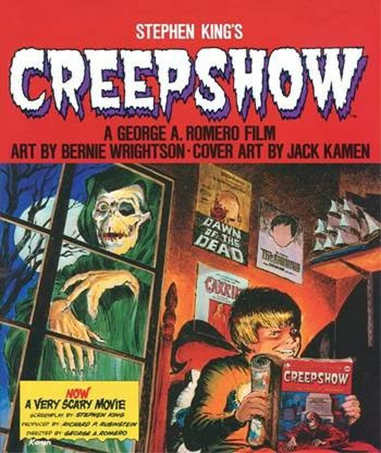 "Cover to ""Creepshow,"" the graphic novel adaptation of the 1982 horror film by Stephen King and George A. Romero. The comic magazine returns to print with a new paperback release May 9. Photo: Courtesy Gallery 13"